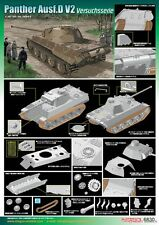1/35 Dragon German Panther Ausf.D V2 Versuchsserie (Smart Kit) #6830