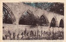 CREPY-EN-VALOIS ruines de l'église sainte-agathe écrite