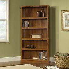 5-Shelf Bookcase - Abbey Oak - Sauder Select Collection (410175)