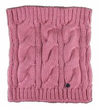Bench Levigny Snood Knit Pink Acrylic O/S Scarf Stretchy Neck Warmer Snood NWT