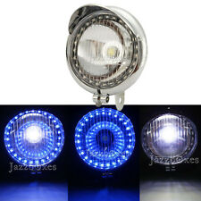 Head Fog Light LED Angel Eye For Kawasaki VN Vulcan Classic Nomad Drifter 1500