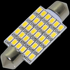 "1pc Warm White 1.72"" (42mm˜43mm) 30-3020-SMD LED  Dome Festoon light bulb"