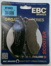 Honda SH125 Mode (2014 to 2016) EBC FRONT Organic Disc Brake Pads (SFA603)