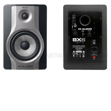 NEW MAudio BX6 Carbon Reference Monitor Active Speaker 130 Watts