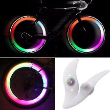 2 X Wheel Spoke Lights Colour Changing LED - Bike Bicycle Wheel Light