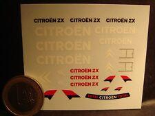DECALS 1/43 - CHEVRON CITROËN ZX  - T276