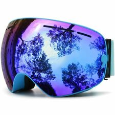 JULI Ski Goggles,Winter Snow Sports Snowboard Goggles With Anti-fog UV Dual