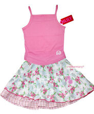 Oilily ✿ NWT GIRLS Seahorse & Roses designer Skirt & Top ✿ Euro 98 / Size 2 - 3