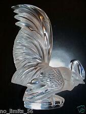 """Kristall Mascotte Figur Lalique """"HAHN"""" 20,5cmHOCH SEHR GUT ZUSTAND"""