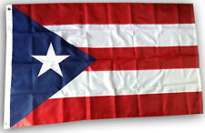 3x5 Ft Embroidered Nylon Puerto Rico Flag Puerto Rican National Country Flag
