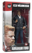 """The Walking Dead ABRAHAM FORD 7"""" Figure McFarlane Color Tops Red Wave #7"""