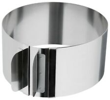 Judge Adjustable Stainless Steel Cake Rosti Ring, 15.5 to 30cm Diameter TC232