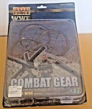 1/6 ELITE FORCE WWII COMBAT GEAR BARBED WIRE CARDED SET New/Never Opened