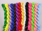 27m Multi-Color Nylon Chinese Knot Rattail Beading Jewelry Thread Cords 1mm