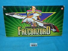 Mighty Morphin Power Rangers White Ranger's Deluxe Falconzord BOXED NO INSERT