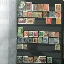 #299 Argentina, Brasil, Chile mixed postal stamps from collection