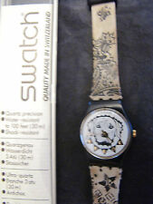Crono Swatch AG 1996 1997 FallWinter Irony Chrono Straight Edge L Art YCS1006AL
