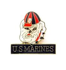 Wholesale Lot of 12 USMC Marines Devil Dog Lapel Hat Pin Military PPM671
