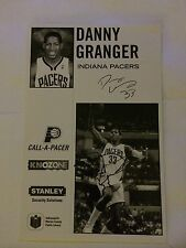 Danny Granger Indiana Pacers Signed Photo