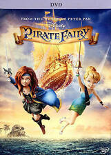 DISNEY - The Pirate Fairy (DVD,2014) BRAND NEW  SEALED