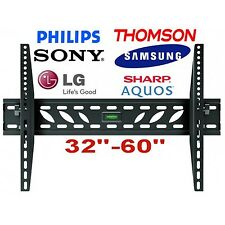Montaje en pared Soporte Tv Slim 32 34 37 40 42 46 48 50 52 60 70 Pulgadas Lcd Led Plasma