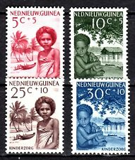 Dutch New Guinea - 1957 Child care - Mi. 45-48  MNH