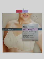 42DD   MARKS & SPENCER  TOTAL SUPPORT CREAM   BRA  BNWOT ONLY £5.99