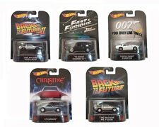 NEW Hot Wheels New 2015 Retro Entertainment H Case 5 Car Set BDT77-996H