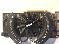 MSI GeForce GTX 650 Ti N650GTX-Ti Cyclone NVIDIA Video Card