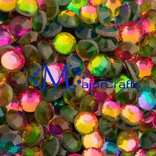 1440pcs Rainbow 2mm ss6 Flat Back Glass DMC A+ Hotfix Rhinestones Crystals C28