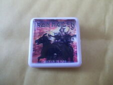 AND ANOTHER 3 IRON MAIDEN  ALBUM BADGES / PINS FREE POSTAGE IN THE UK