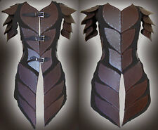 Leather medieval theatrical celtic Armor LARP SCA viking ninja armour costume