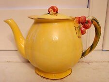 Vintage Royal Winton Yellow Tiger Lily Large Teapot