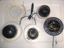 BROKEN Lot of 4  Security Cameras Mix brands Pelco PTZ / DOME and others brands