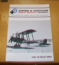 CROSS & COCKADE GREAT BRITAIN JOURNAL VOL 15 No 2 1984  DORNIER G1 AIRSHIP