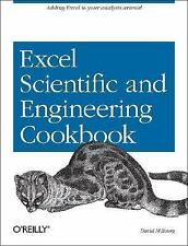 Excel Scientific and Engineering Cookbook (Cookbooks (O'Reilly)), Bourg, David M