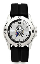 AFL NEW Release Watch Collingwood Magpies Rubber Band 100m WR FREE SHIPPING