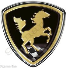 Single Century Horse Decal Name Plate