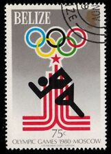 """BELIZE 453 (SG516) - Moscow Olympics """"Runner"""" (pf88353)"""