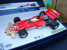 Brand New Scalextric Boxed GP Legends Lotus 72 Limited Edition Slot Car C3542A
