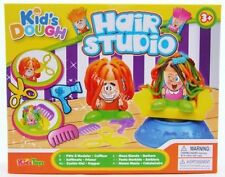 Dough Hair Studio & Chair Hairdressing Moulding Modelling Doh Tub Play Set TY369