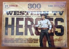 300 EPISODES OF WESTERN TV ON 24 DISCS - 132 HOURS - ALL THE GREAT ONES