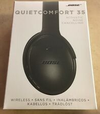Bose QuietComfort 35 QC35 Wireless Bluetooth Headphones 2016 Model Black (NEW)