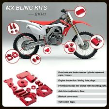 HONDA CRF250R RED BLING KIT  2004 - 2008  CRF250X 2004-2013
