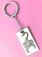 K1237 key chains Stainless Steel key ring cool scorpion design man accessory new