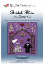 Quilled Creations Paper Quilling Kit BRIDAL BLISS Wedding, Tux, Gown, Cake ~415