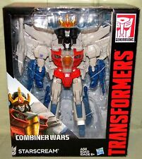 STARSCREAM WITH CROWN Transformers Generations Combiner Wars Leader Class 2015