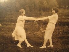 ANTIQUE VINTAGE FLAPPER ERA LOVELY WOMEN LOVE GIVE & TAKE LESBIAN INT OLD PHOTOS