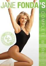 Jane Fonda's Complete Workout DVD, New DVD, Jane Fonda, Sid Galanty