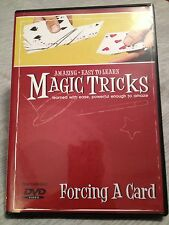 Amazing Easy to Learn Magic Tricks: Forcing a Card DVD